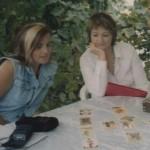 tarot reading practice at the Greek Island Summer School