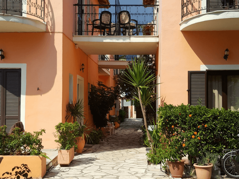 Greek Island Summer School Nidri accommodation
