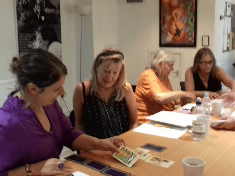 Tarot workshop London with Joanna Watters