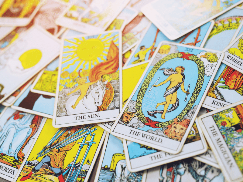 Working with tarot course